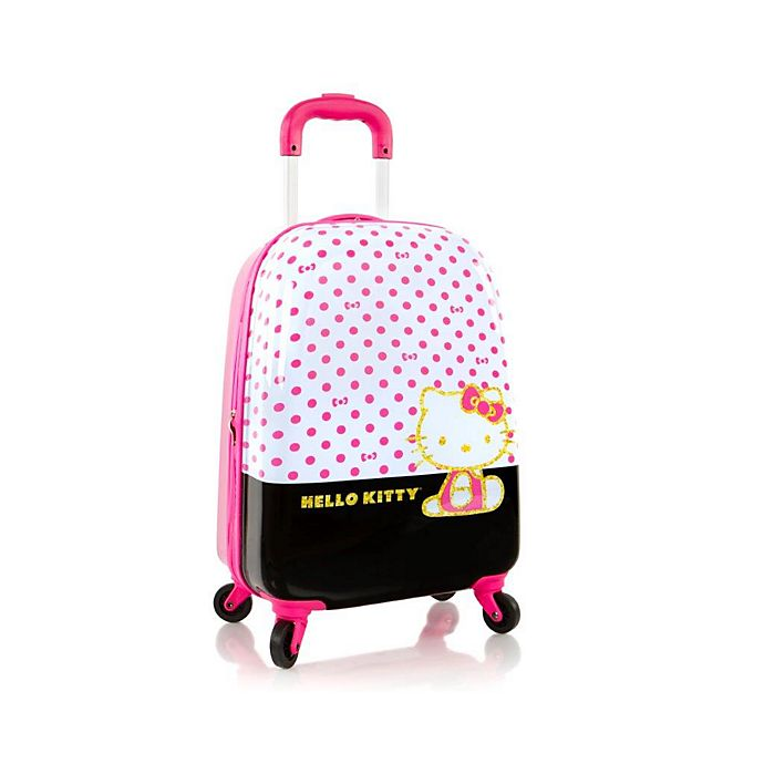 Alternate image 1 for Heys® Tween Hello Kitty Dots 20-Inch Hardside Spinner Carry On Luggage