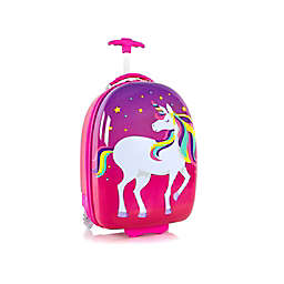 Heys® Unicorn Kid's Round-Shaped Rolling Carry On Luggage