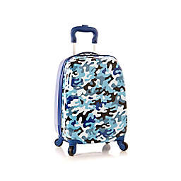 Heys® Fashion Blue Camo 18-Inch Hardside Spinner Carry On Luggage