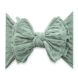 Baby Bling Fab-Bow-Lous Headband in Sage