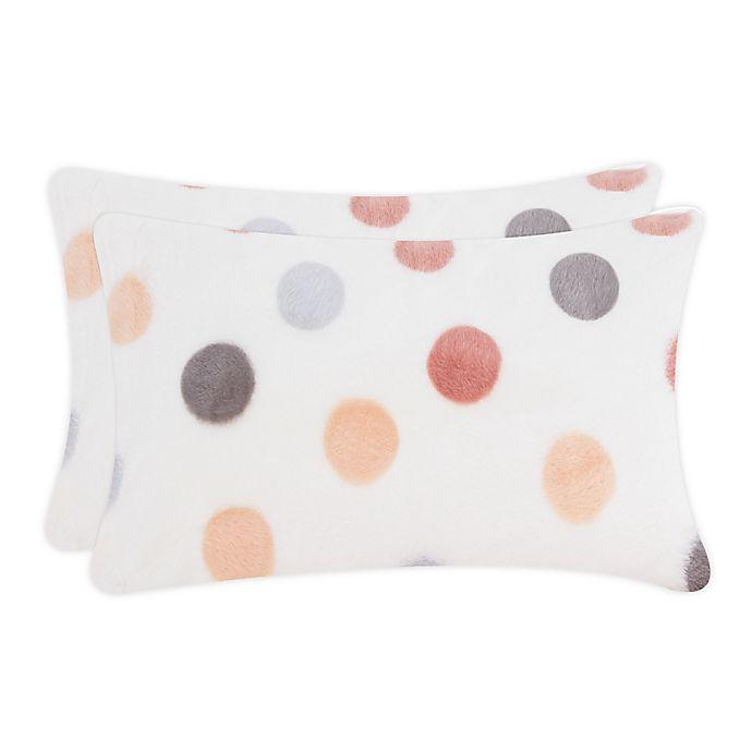 Alternate image 1 for UGG® Polar Plush Dot Standard/Queen Pillowcase