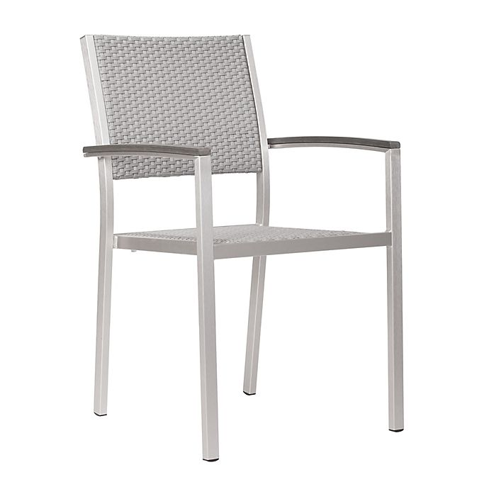 Alternate image 1 for Zuo® Outdoor Metropolitan Arm Chairs (Set of 2)