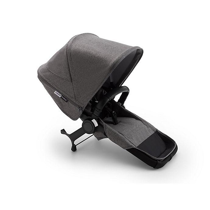 Alternate image 1 for Bugaboo® Donkey 3 Duo Extension Stroller Seat in Grey Melange