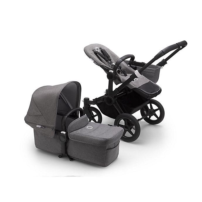 Alternate image 1 for Bugaboo® Donkey 3 Mono Complete Single Stroller in Grey Melange