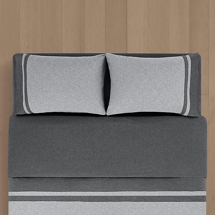 Calvin Klein Harrison Bedding Collection Reviews Bedding Collections Bed Bath Macy S Bed Linens Luxury Black Duvet Black Duvet Cover