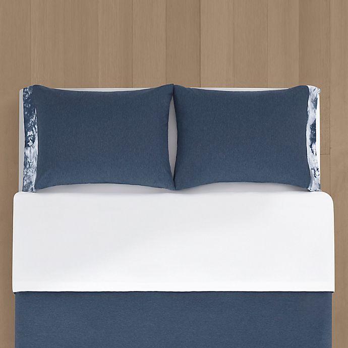 Alternate image 1 for Calvin Klein Tie Dye Block Duvet Cover Set