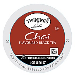 Twinings of London® Chai Black Tea Keurig® K-Cup® Pack 24-Count