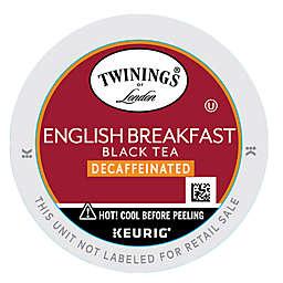 Twinings of London® Decaf English Breakfast Tea Keurig® K-Cup® Pack 24-Count