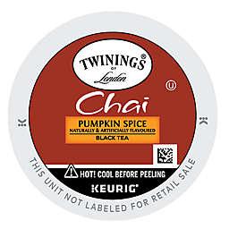 Twinings of London® Pumpkin Spice Tea Keurig® K-Cup® Pack 24-Count