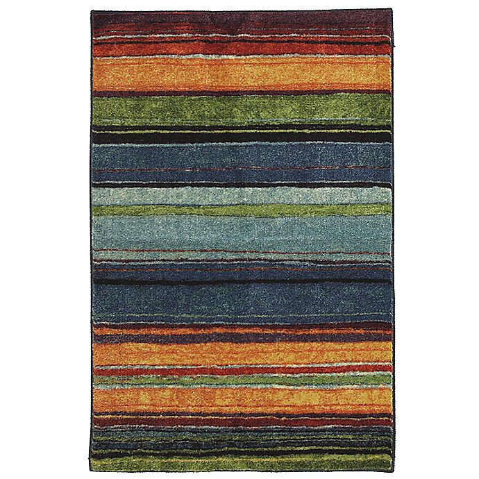 Alternate image 1 for Mohawk® Rainbow 2-Foot 6-Inch x 3-Foot 10-Inch Multicolor Accent Rug