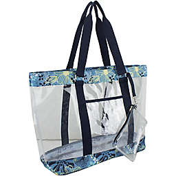 Eastsport Clear Large Tote with Wristlet