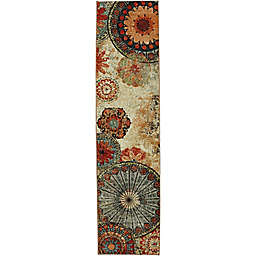 Mohawk Home® Strata Caravan Medallion 2-Foot x 5-Foot Multicolor Runner