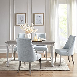 Martha Stewart Winfield Dining Table in Natural/Cream