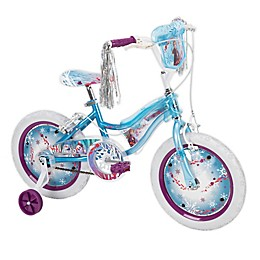 Huffy® Disney Frozen 2 16-inch Bike with Electro-Lights in Sky Blue