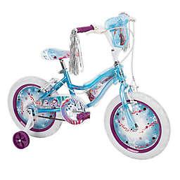 Huffy® Disney Frozen 2 16-inch Bike with Electro-Lights in Sky Blue