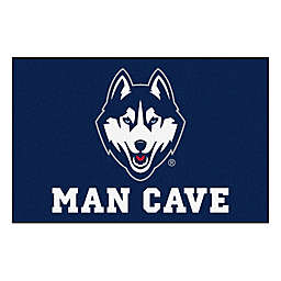 "University of Connecticut 19"" x 30"" Man Cave Floor Mat"