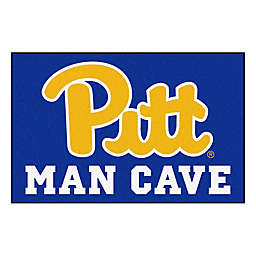 "University of Pittsburgh 19"" x 30"" Man Cave Floor Mat"