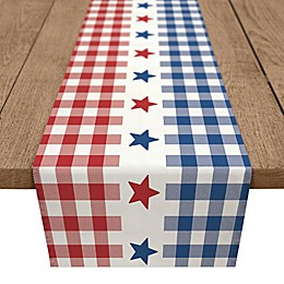 Designs Direct Buffalo Check Stars Table Runner