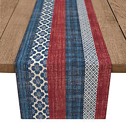 Designs Direct American Stripes Table Runner