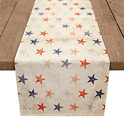 Designs Direct Vintage American Stars 72-Inch Table Runner