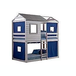 Deer Blind Twin Bunk Bed with Tent Kit