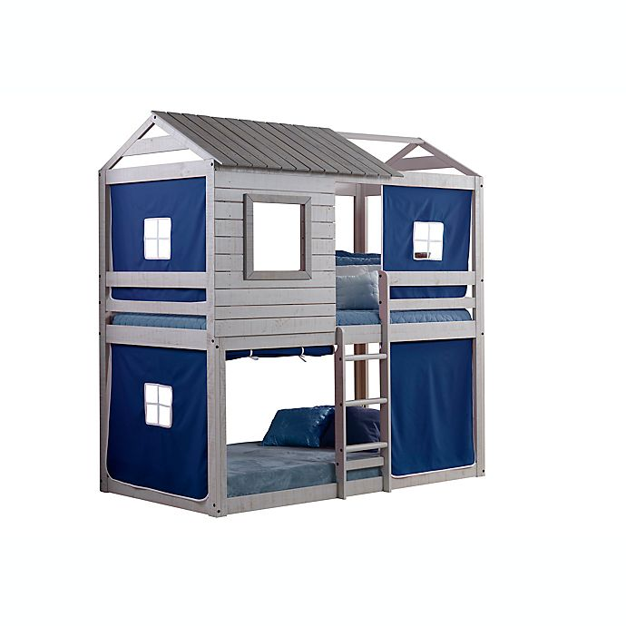 Alternate image 1 for Deer Blind Twin Bunk Bed with Tent Kit