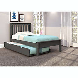 Contempo Platform Bed with Trundle
