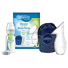 Dr. Brown's™ Silicone One-Piece Breast Pump