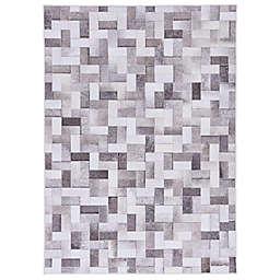 Pinnacle Teller Area Rug in Grey/Ivory