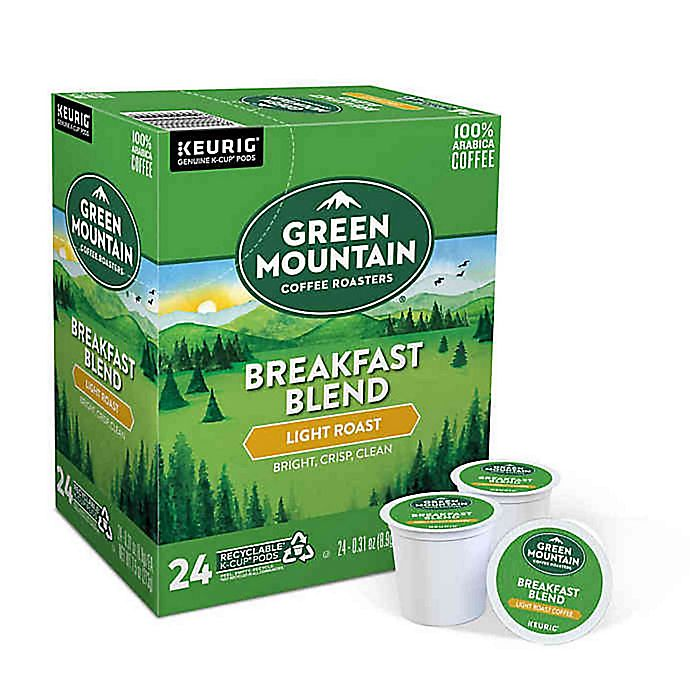 Alternate image 1 for Green Mountain Coffee® Breakfast Blend Keurig® K-Cup® Pods 24-Count