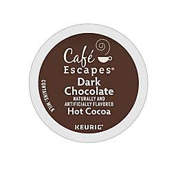 Café Escapes® Dark Chocolate Hot Cocoa Keurig® K-Cup® Pods 24-Count