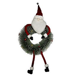 Winter Wonderland Santa Christmas Wreath