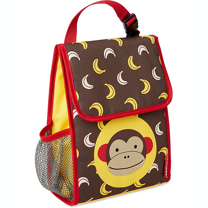 Alternate image 1 for Skip Hop® Zoo Monkey Insulated Lunch Bag