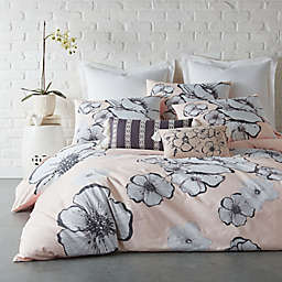 Levtex Home Blooming Floral Queen Duvet Cover in Blush