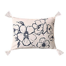 Levtex Home Blooming Floral Oblong Throw Pillow