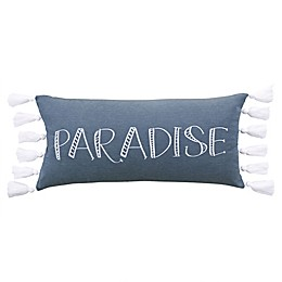 Levtex Home Truro Paradise Oblong Throw Pillow in Blue