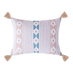 Levtex Home Ronda Oblong Throw Pillow in Grey