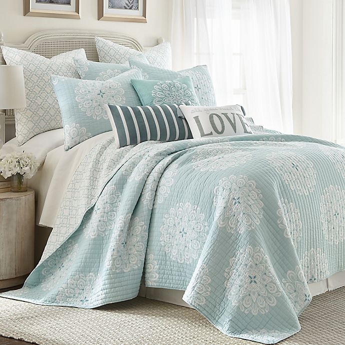 Alternate image 1 for Levtex Home Lara Spa Bedding Collection