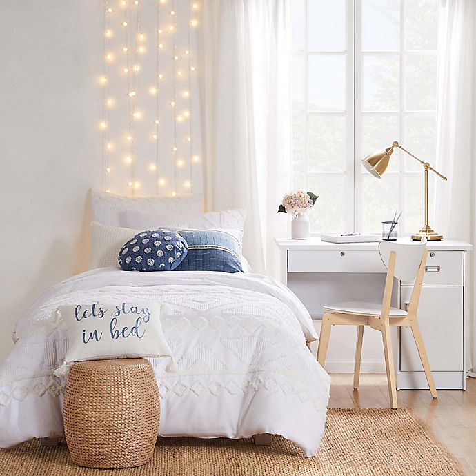 Alternate image 1 for Levtex Home Harleson 3-Piece King Comforter Set in White