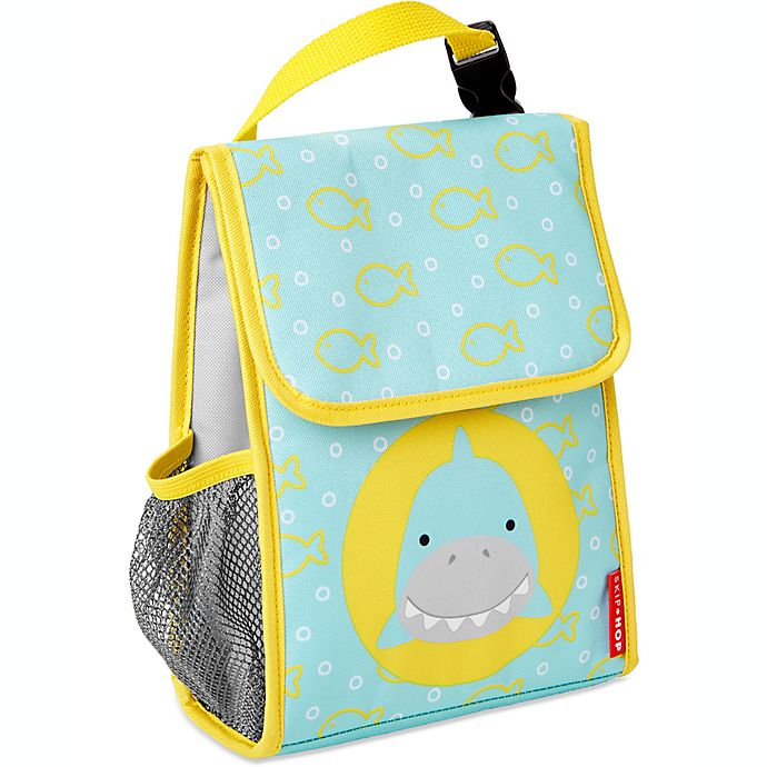 Alternate image 1 for SKIP*HOP® Zoo Shark Lunchie Insulated Lunch Bag