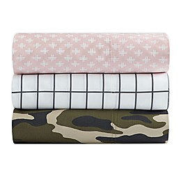 SALT™ Printed 300-Thread-Count Sheet Set