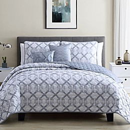 Ellen Tracy Ironwork 5-Piece Quilt Set