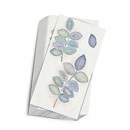 Croscill Mosaic Leaves 32-Count Spa Paper Guest Towels