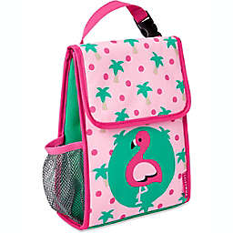 SKIP*HOP® Zoo Flamingo Insulated Lunch Bag in Pink