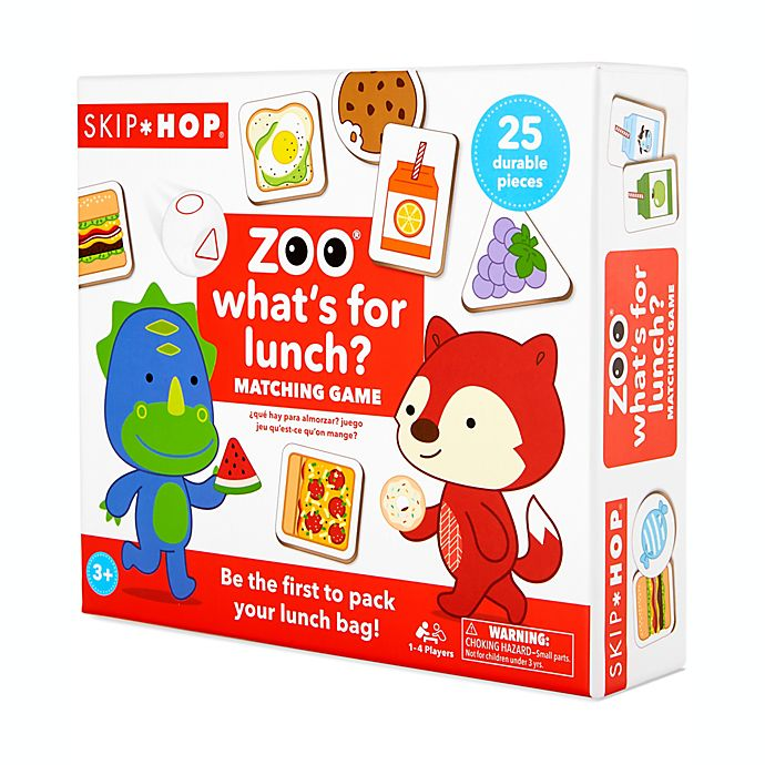 Alternate image 1 for SKIP* HOP® ZOO® Whats for Lunch? Game