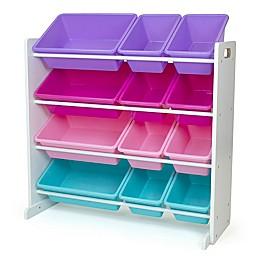 Humble Crew Forever Toy Storage Organizer with 12 Storage Bins