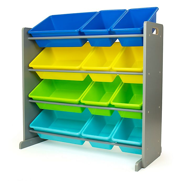 Alternate image 1 for Humble Crew Element Toy Storage Organizer with 12 Storage Bins