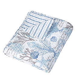 Levtex Home Sag Harbor Quilted Throw Blanket in Blue