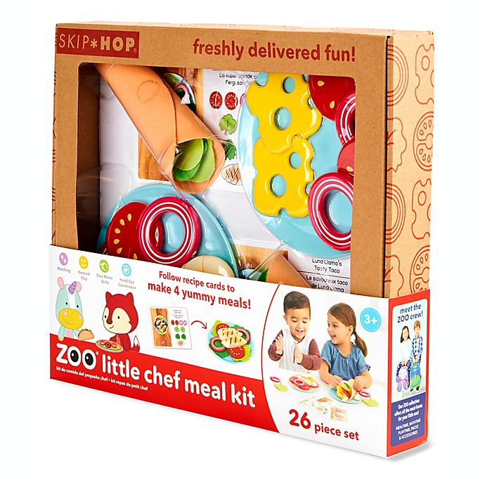 Alternate image 1 for SKIP*HOP® ZOO 26-Piece Little Chef Meal Kit
