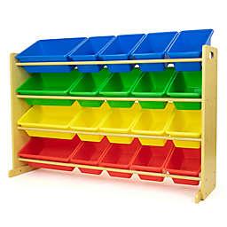 Humble Crew Extra Large Toy Storage Organizer with 20 Storage Bins